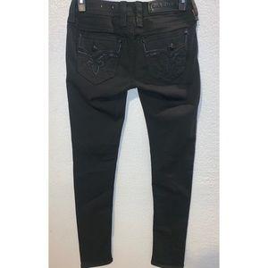 Rock Revival alba skinny jeans sz 27x32
